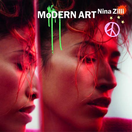 La cover del nuovo album di Nina Zilli, Modern Art © ANSA
