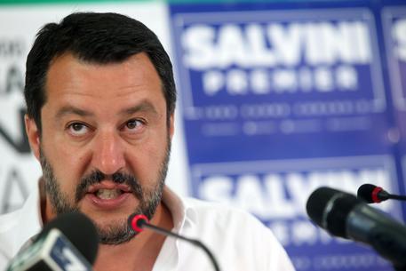 Matteo Salvini in una foto d'archivio © ANSA