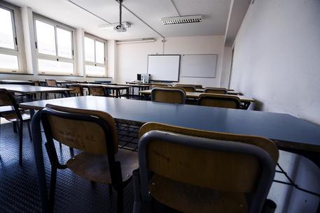 Un'aula di una scuola (archivio) © ANSA