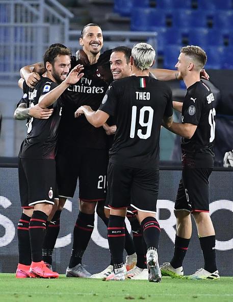 Lazio-Milan © ANSA