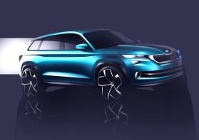 Skoda VisionS, a Ginevra arriva il SUV del futuro © ANSA