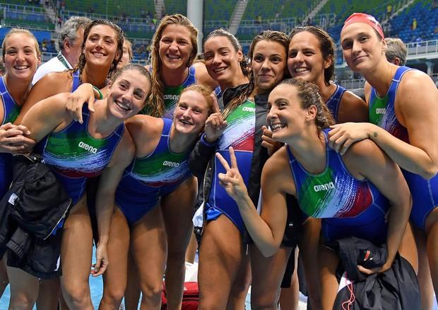 Rio: Setterosa in finale, Italia sale a 25 medaglie (foto: ANSA)