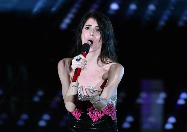 Giorgia al Festival di Sanremo nel 2017 (foto: ANSA)