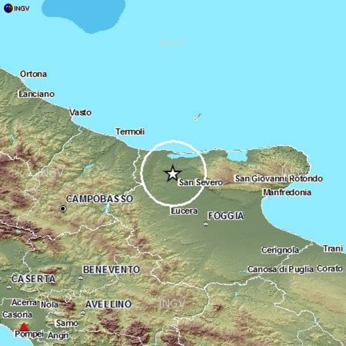 Terremoti nel Gargano 2015