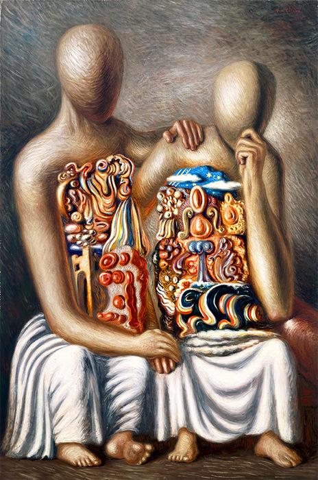 Risultati immagini per De Chirico e Savinio. Una mitologia moderna