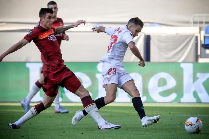 Roma-Siviglia - Europa League 2 0 Alla Roma Siviglia Ai Quarti Calcio Ansa