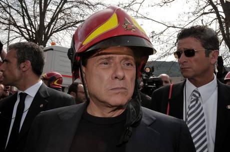 berlusconi pompiere