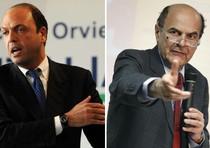 Alfano-Bersani, scontro sul lavoro