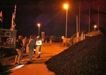 Operai occupano miniera Carbosulcis a -400 metri