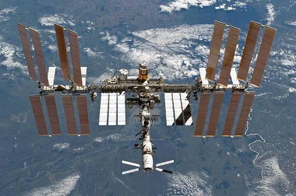 La stazione Spaziale Internazionale (Fonte: Nasa)