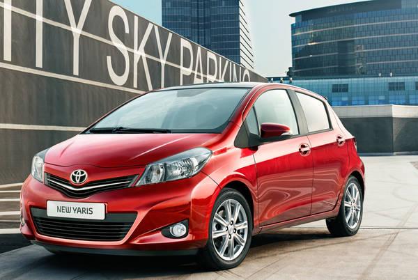Svelata dalla Toyota l'immagine della nuova Yaris