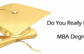 MBA degree