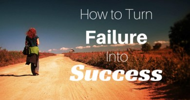 failure into success