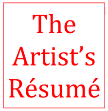 Artist Resume