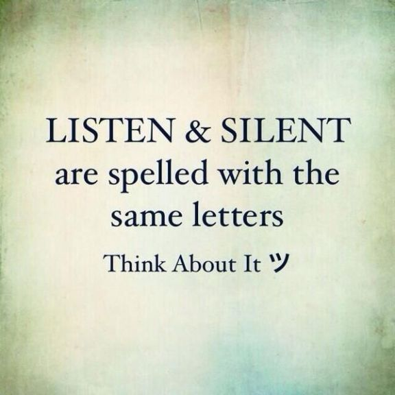 quote about listening