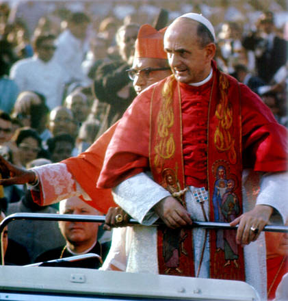 An image of Pope Montini