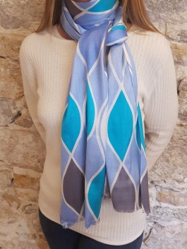 Foulard en Soie « Waves »