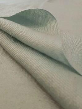 Pashmina Bleu Givré – Étole 70×190 cm