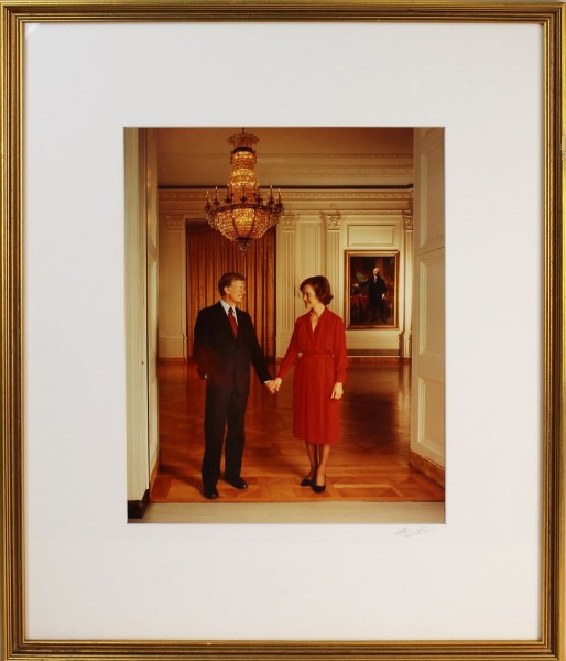 Portrait of Rosalynn and Jimmy Carter, National Portrait Gallery, Smithsonian Institution