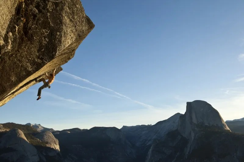 Dean Potter Soloing On Heaven — A Yosemite Climbing Icon