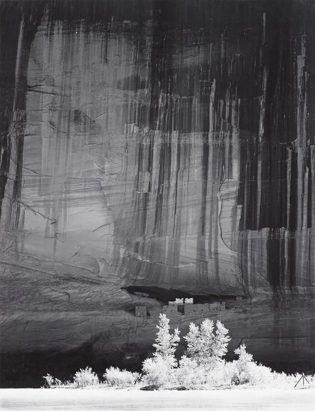 """Ansel Adams, """"White House Ruin, Morning, Canyon De Chelly"""""""