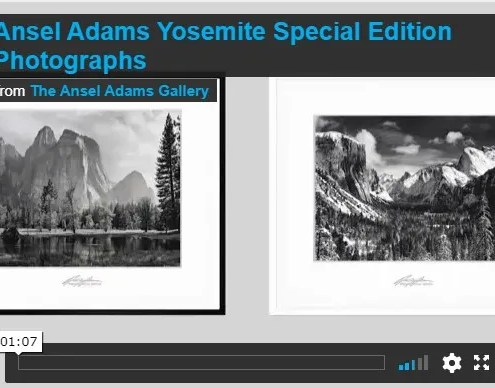 About Yosemite Special Edition Photographs