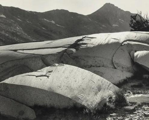 Ansel Adams Glacial Polish, Lyell Fork