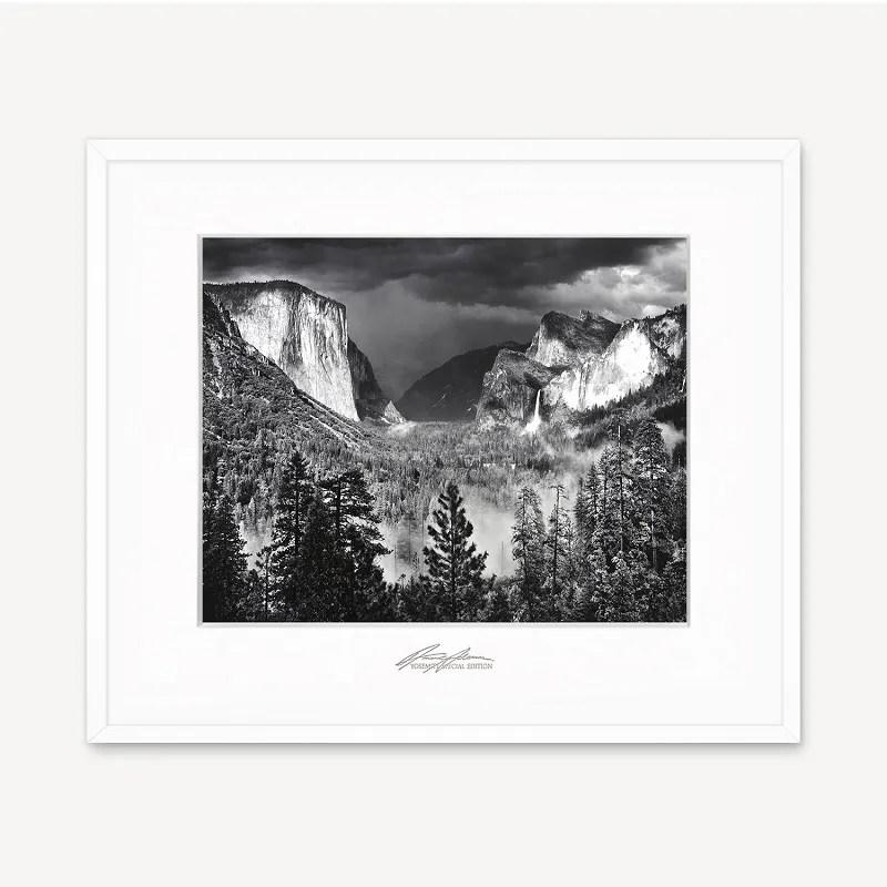 Yosemite Valley Thunderstorm, framed