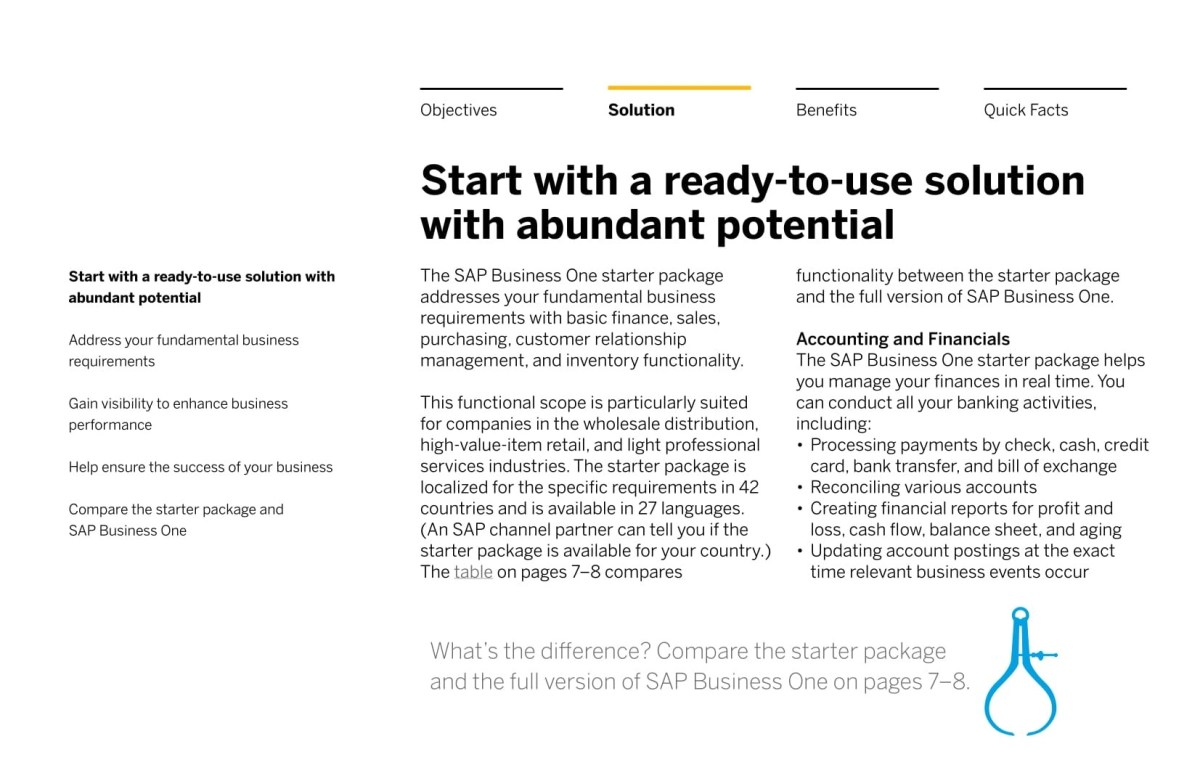 SOLUTION BRIEF Get Growing with the SAP Business One starter package-03