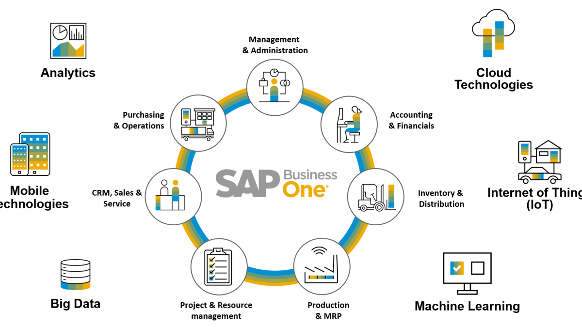 SAP Business One Diagram
