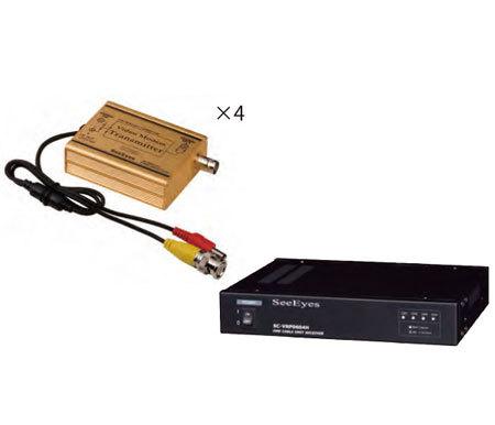 4CH映像伝送装置SC-VCP0604