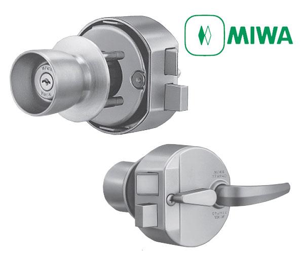 MIWA(美和ロック)HPD交換用ドアノブ錠セット U9 HPD-40HS