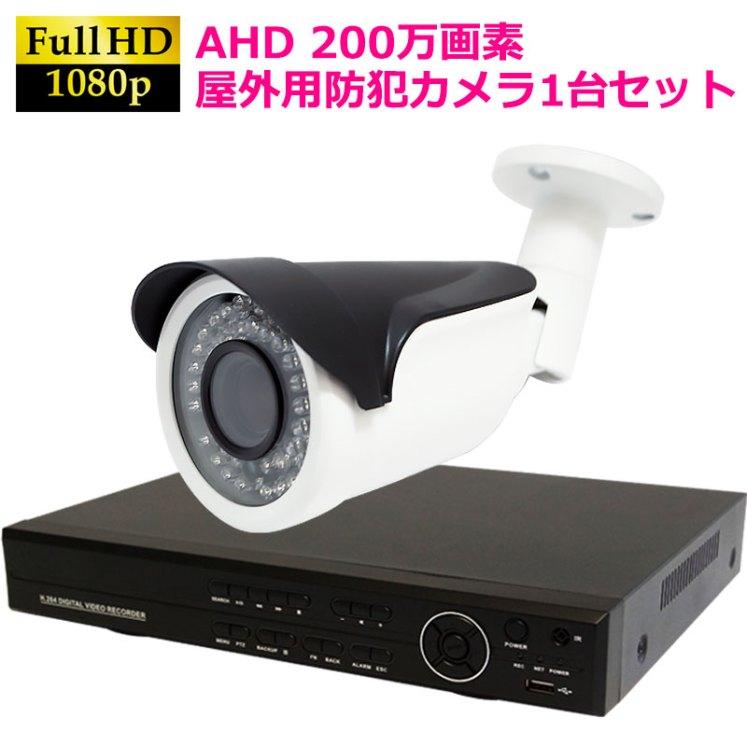 防犯カメラ録画機セット