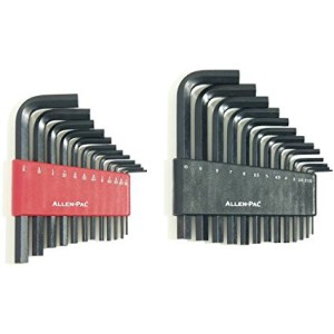 SAE & Metric Hex Key Sets