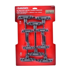 Husky Metric & SAE T-Handle Wrenches