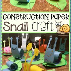 snail pic craft