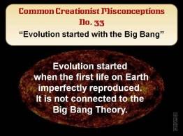 Creationist Misconceptions No. 33 - Big Bang