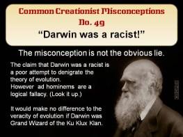 Darwin was a racist