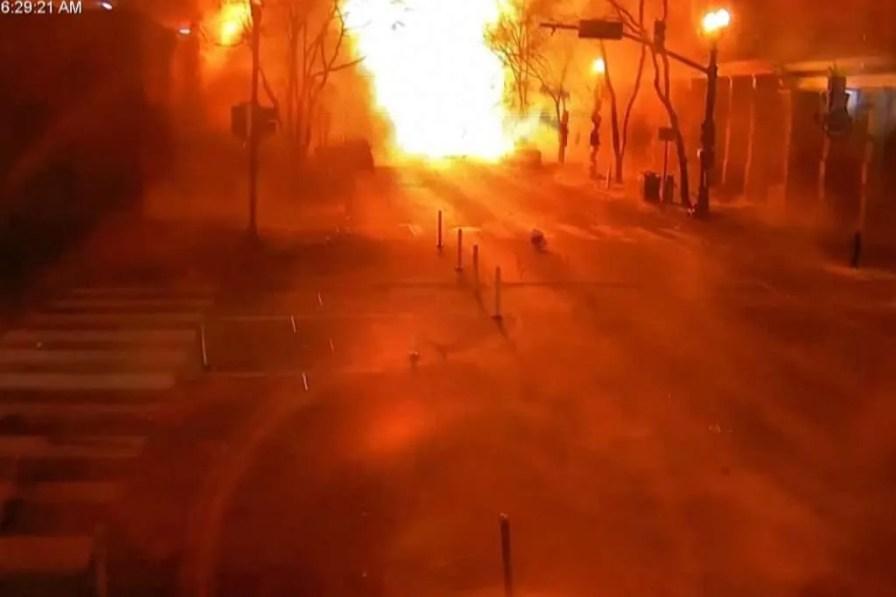 Nashville Bombing Damage Explosion