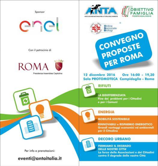 PROPOSTE per ROMA