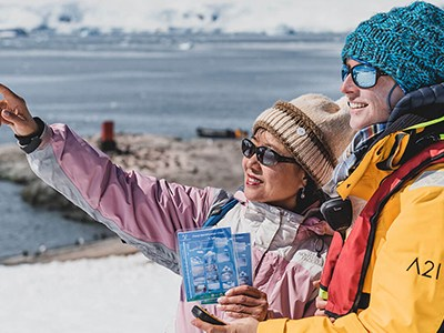 On your antarctica cruise, get involved in Antarctica science with Citizen Science.