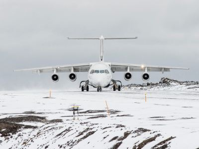 Our aircraft to fly direct to Antarctica