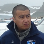 Hector Burgos, Antarctic 4WD Driver, in Antarctica21's Operations Department