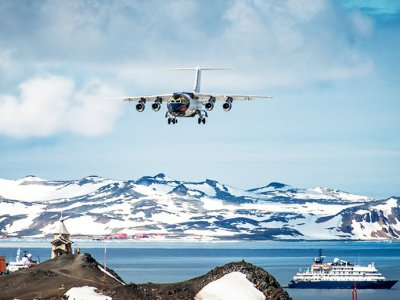 Image of The Start of Your Antarctic Air-Cruise