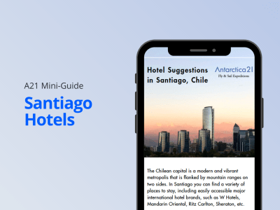 Download your Santiago Hotels mini-guide by Antarctica21