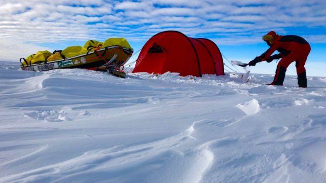 Colin O Brady First Man To Cross Antarctica Solo