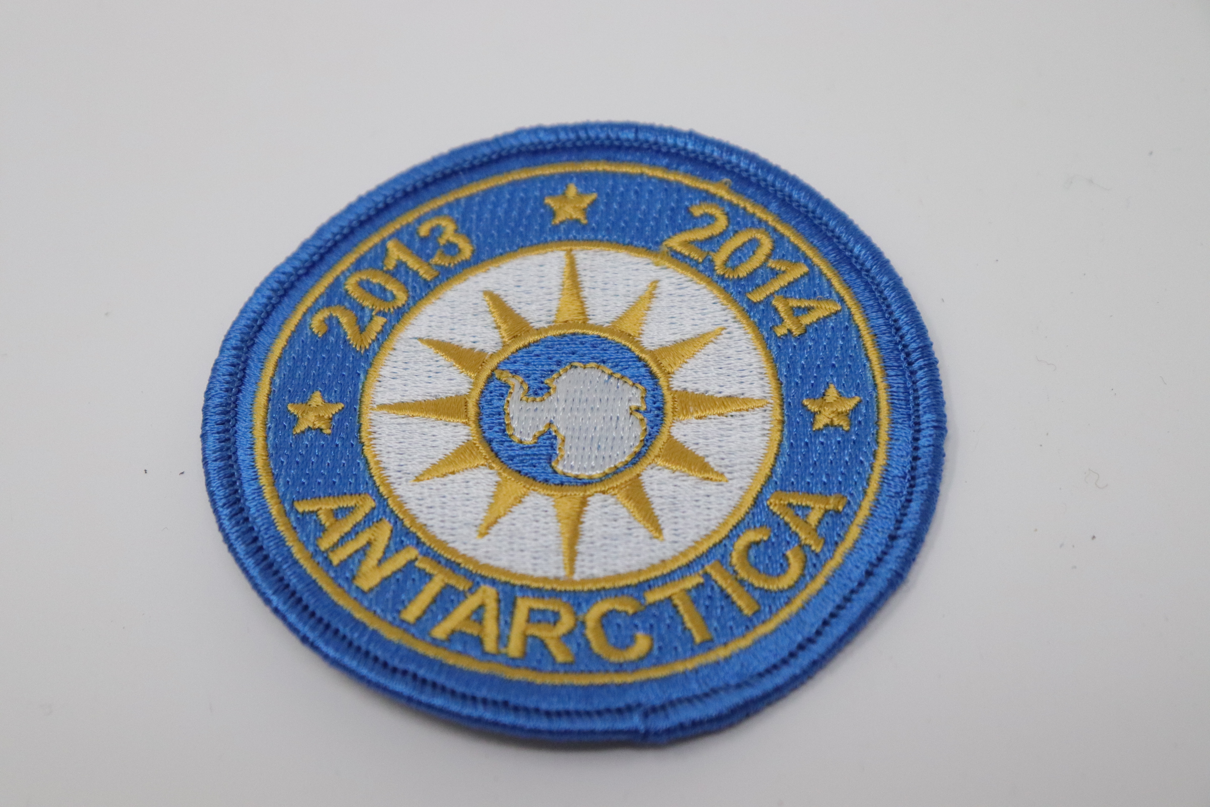 2014, South Pole Commissary Commemorative Antarctic Program Embroidered Patch