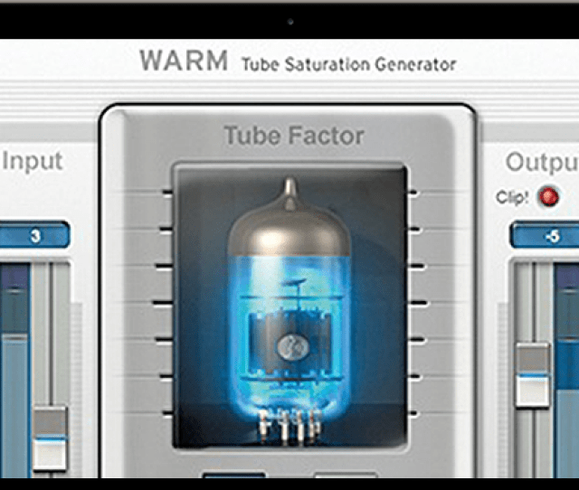 Warm Evo Tube Saturation Generator