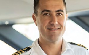 Captain Cuan Odendaal, Antares Luxury Charter Yacht