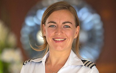 CHIEF STEWARDESS – Anneline Duffield, but we call her Lynx